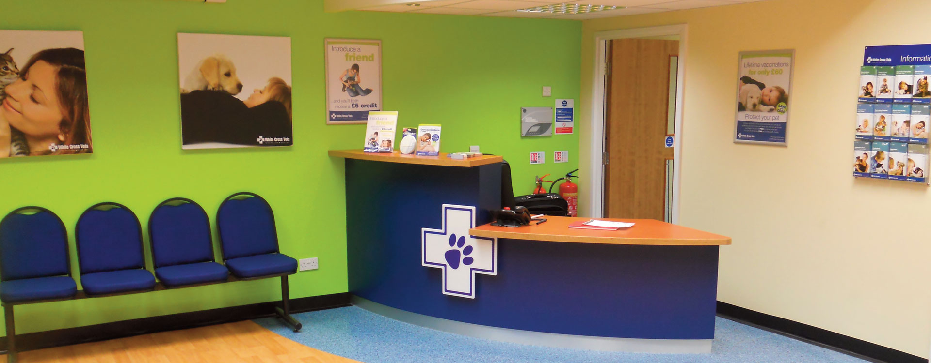 White Cross Vets Virtual Tour