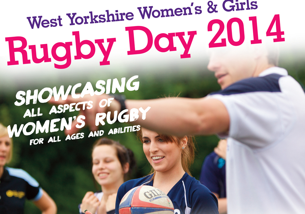 RFU Girls Rugby Flyer