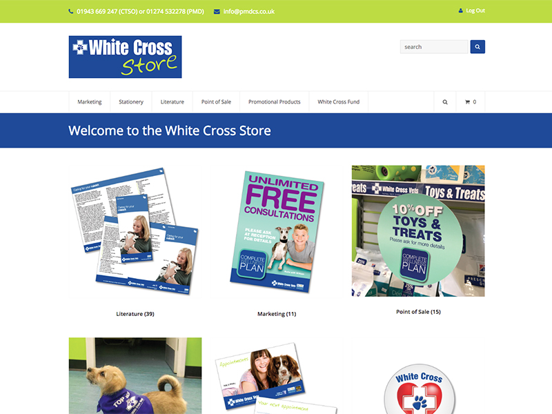 White Cross Vets Store
